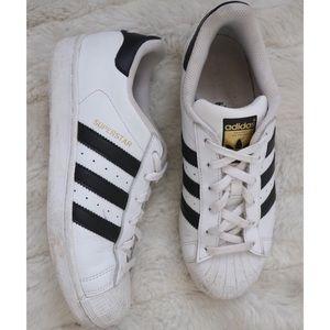 Adidas Superstar 3 Stripe Low Top Sneakers